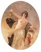 Lotz Károly – A tavasz allegóriája (144x115 cm; olaj/vászon)