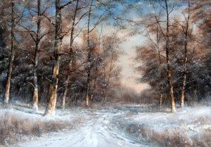 Benda Zoltán - A tél szépségei (70 x 100 cm)