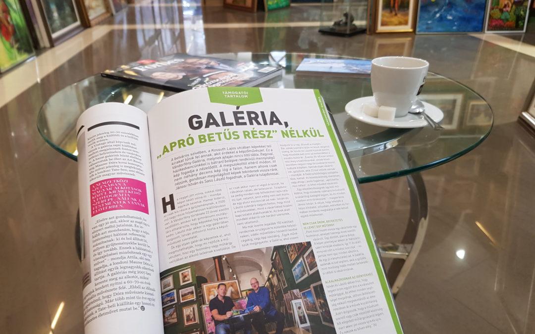 """Megjelenés a Forbesban: Galéria """"apró betűs rész"""" nélkül"""